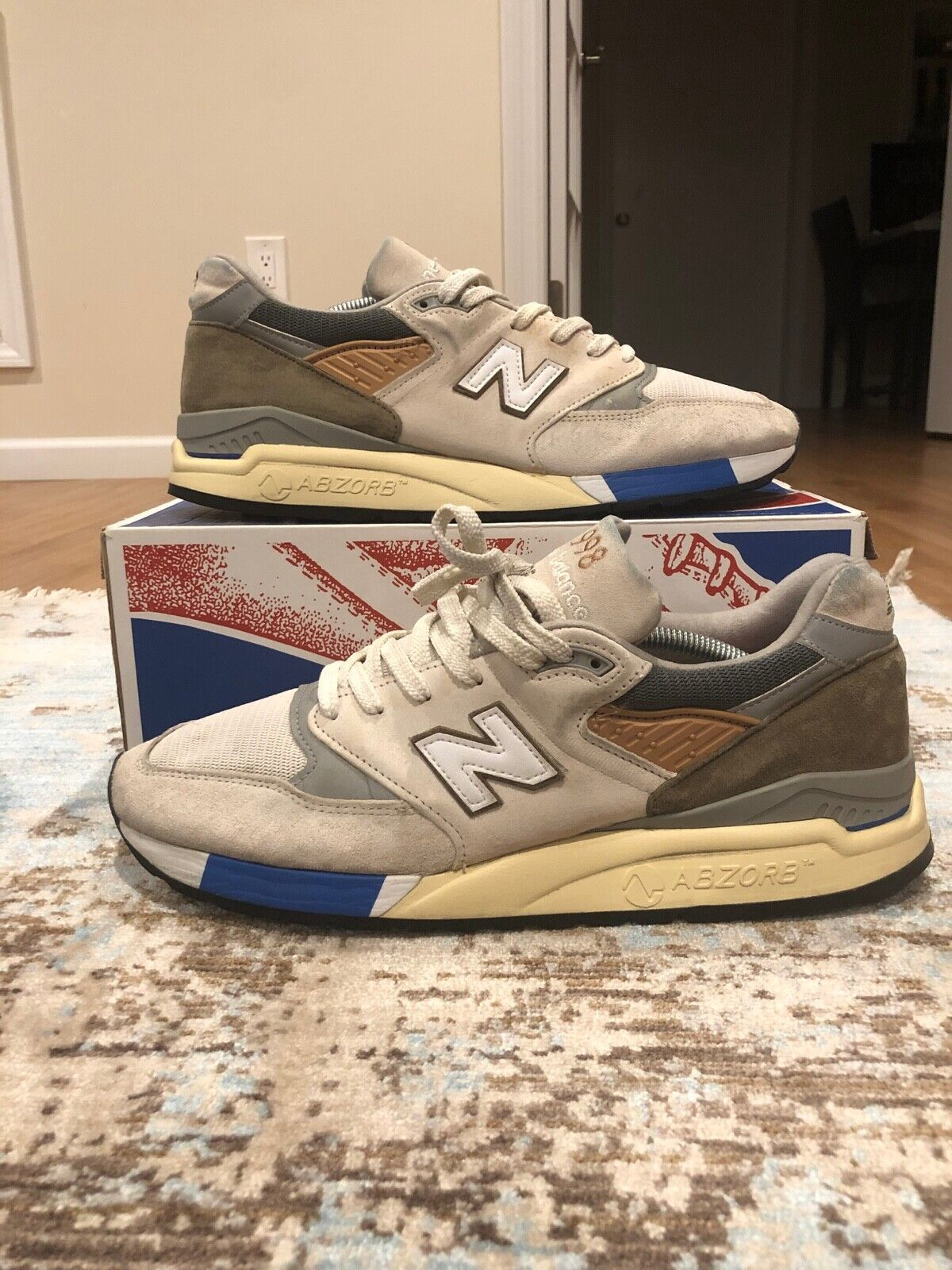 """New Balance 998 Concepts """"C-Note"""" M998TN2 Size 12"""