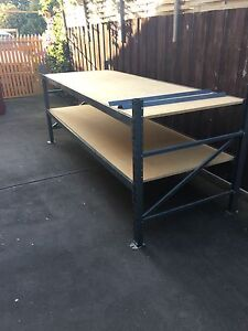 Dexion type shelving , garage workbench Jacana Hume Area Preview