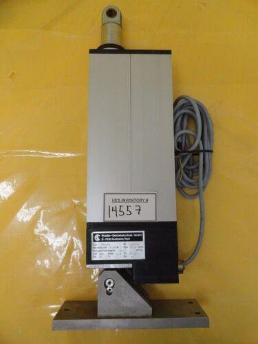 Pradler-Getriebetechnik 92090185 Linear Actuator Assembly Used Working