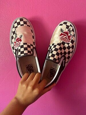 womens slip on vans size 5
