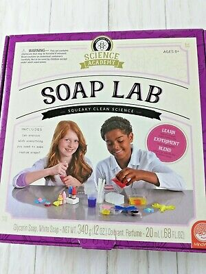 Science Academy Soap Lab MindWare New In Box Summer Vacation Activity Experiment