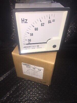 Onesto Frequency Meter 55-65 Hz 415 Volts