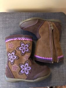 Girls toddler boots, size us 9