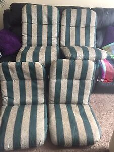 Set of 4 patio chair covers