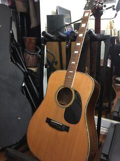 70's acoustic guitar Morris Gakki MIJapan W645 vintage