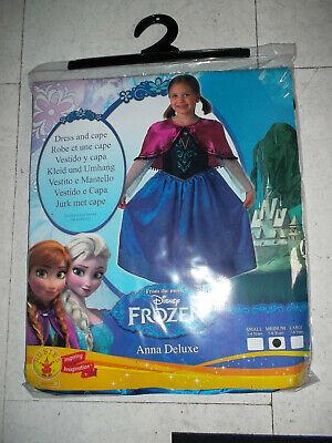 Eiskönigin Disney Frozen Anna Kostüm Kleid + Umhang - Disney Frozen Kleider