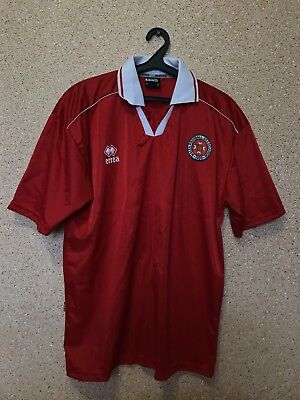 Vintage Malta NATIONAL TEAM 2001/2004 HOME FOOTBALL SHIRT JERSEY MAGLIA Errea image