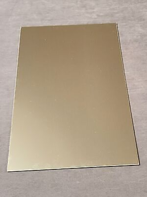2 Pack .125 Aluminum Sheet Plate. 18 X 6 X 12 Fine Polished To 4 Finished.
