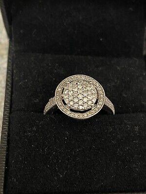 white gold diamond ring used