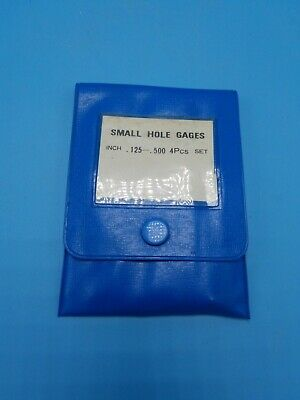 Fuji Tool To-4 4 Pc. Small Hole Gage Set .125 To .500 In Pouch