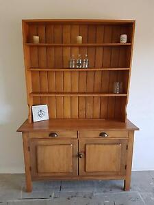 Rustic Farmhouse Buffet Hutch North Lakes Pine Rivers Area Preview