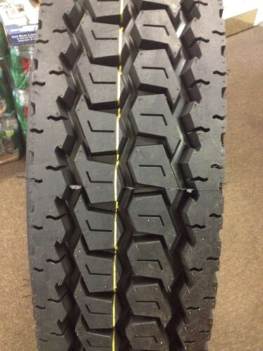 10-tires 11r24.5 (2-steer And 8-drive Tires) New Road Warrior Tires 16 Ply 11245