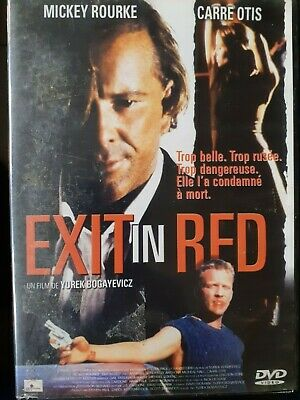 C38 / DVD THRILLER EXIT IN RED Mickey ROURKE Carre OTIS
