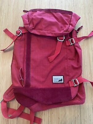 Master-Piece Japan Potential Travel Backpack Red Canvas