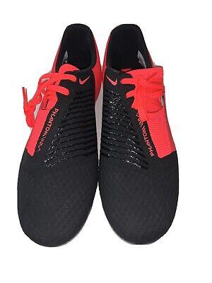 Nike Men's Phantom Venom Academy Fg AO0566 606 soccer shoes red Sz 8.5 New