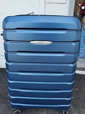 "Samsonite TECH TWO 2.0 2-Piece Hardside 27"" & 21""  Travel Luggage Set, Blue"