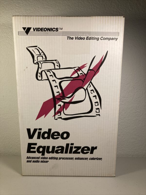 Videonics Video Equalizer Model VE-1 with Power Cord & Box.