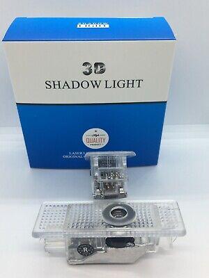 2 pcs Door light Logo LED car lights courtesy door projector Logo ghost shadow