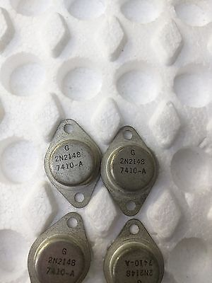Germanium Transistor Output Driver 2n2148 Rca Bsc 1 Pc Lot Only Make Offer