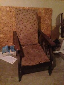 Reading chair antique