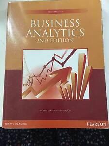 Business Analytics (Deakin University) Burwood Whitehorse Area Preview