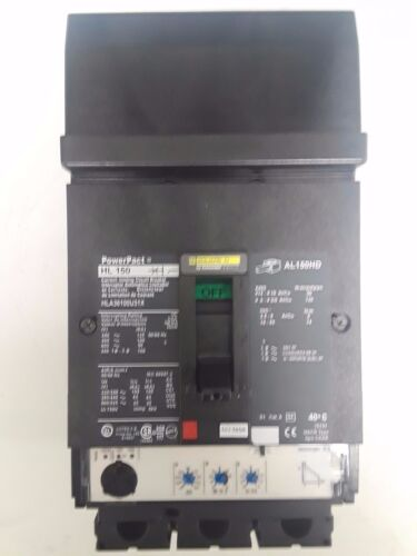 Square D Hla36100u31x 100 Amp Circuit Break New Take Out With Warranty