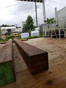 115x115 merbau hardwood posts 2 @ 3m Morningside Brisbane South East Preview