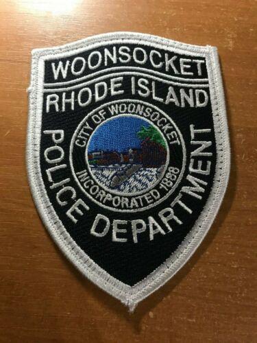 PATCH POLICE WOONSOCKET RHODE ISLAND RI