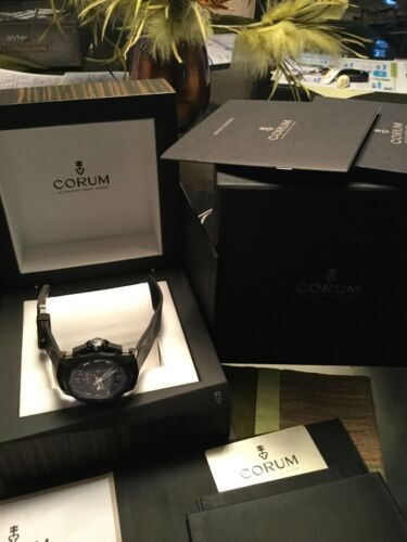 corum admirals cup chronograph No Reserve - watch picture 1