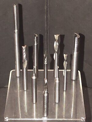 Onsrud Drill Bit Lot Upcut Spiral Flute Routing End Mill 532 732 18 14 38