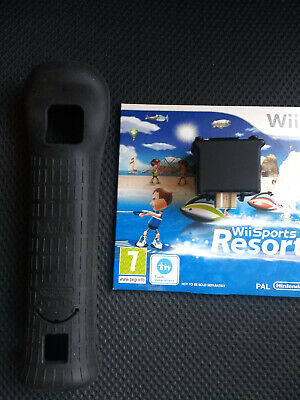 Wii Sports Resort, Motion Plus Adapter & Sleeve Nintendo Wii also works on Wii U for sale  Shipping to Nigeria