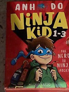Ninja kid books