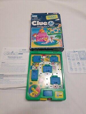 Milton Bradley Clue - Travel Board Game Set - CLUE JR. Milton Bradley Parker Bros. 1994