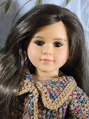 My Twinn Doll DV head Emma - brown eyes-Ooak by FGM2D