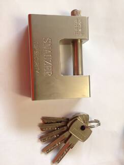 Padlock for Shipping Containers Storage Security Locking case/box Northgate Brisbane North East Preview
