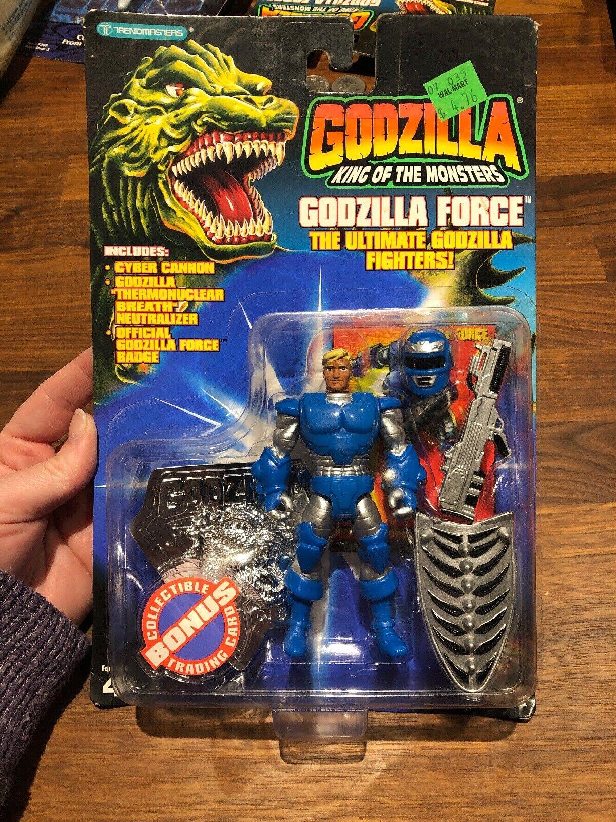 Godzilla King of Monsters - Godzilla Force MICHAEL Action Figure w/trading card