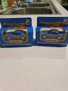 Match box mitre 10 cars mint in box from 1995. Limited editions