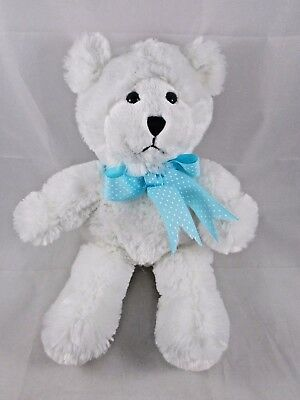 "Princess Soft Toy White Bear Marshmallow 12"""