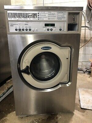 Wascomat Su620e Junior Washer Emerald Series 120v Coin White 2001 Model Year.