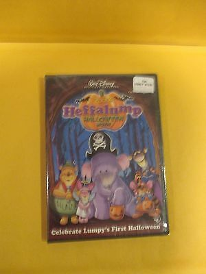 Winnie The Pooh's  Heffalump Halloween Movie (2005, DVD)  RARE/Mfg. Sealed](G Halloween Movies)