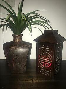 Balinese plant and candle holder Upper Coomera Gold Coast North Preview