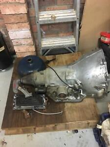 Turbo350 gearbox with torque converter and b&m quick shift Rooty Hill Blacktown Area Preview
