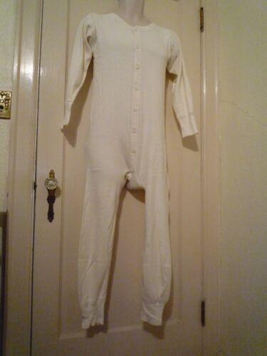 Vintage Unionsuit Union Suit Longjohns Long Johns Thermal Underwear Pajamas PJs