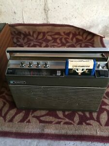 vintage sanyo mr-50b fm/am track stereo player
