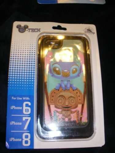 Disney Parks D-TECH iPhone 8/7/6s Case Stitch Maui Mischief Kristin Tercek (NIP)