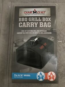 NEW - camp chef BBQ GRILL BOX CARRY BAG