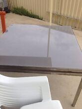 GLASS TOP SQUARE TABLE Merrylands Parramatta Area Preview