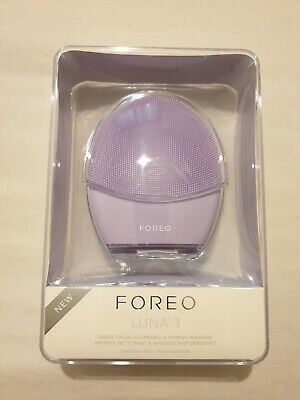 FOREO Luna 3 Smart Electric Facial Cleansing & Massage Device Brand New Sealed