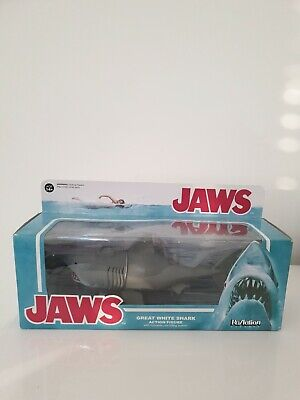 Funko ReAction Jaws Shark Action Figure With Moveable Jaw. Sealed in Box