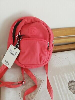 KIPLING GLAYLA MINI 3 IN 1 BACPACK IN PAPAYA BNWT